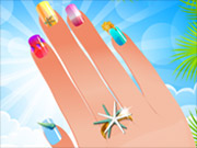 Play Nail Studio - Beach Design