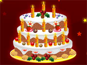 Play New Years Cake Decoration