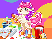 Play Pony Coloring Game