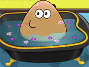 Play Pou Bathing