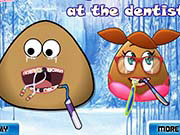 Play Pou Couple Dentist