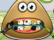 Play Pou Tooth Problems