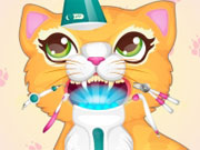 Play Precious Kitty Dentist