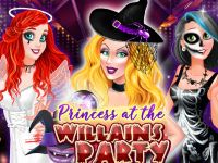 Play Princess at the Villains Party
