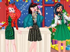 Play Princess Christmas Beards