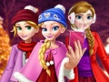 Play Princess Christmas Selfie