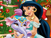 Play Princess Jasmine Christmas Tree