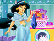 Play Princess Jasmine Housekeeping Day