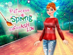 Play Princess Spring re-FrASHiON