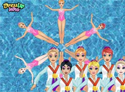 Play Princess Synchronized Swimming
