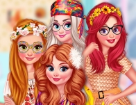Play Princesses Back To 70s