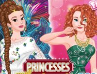 Play Princesses Fashion Wars: Boho VS Gowns