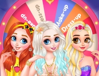 Play Princesses Spin The Wheel Contest