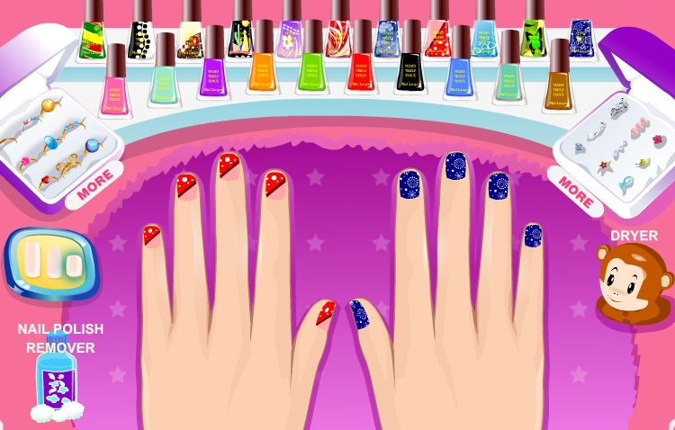 Play Prom Nail Design - Other Games - Prom Nail Design - Girl Games Net