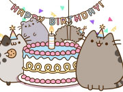 Play Pusheen's Birthday Party