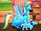 Play Rainbow Dash Baby