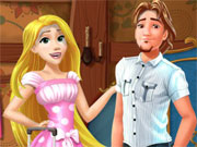 Play Rapunzel and Flynn Moving Together