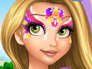 Play Rapunzel Face Painting