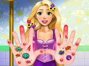 Play Rapunzel Hand Treatment
