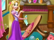 Play Rapunzel Room Cleaning