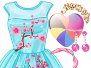 Play Rapunzel's Cherry Blossom Outfits