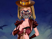 Play Riley Halloween Dressup