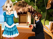 Play Romantic Anime Dress Up