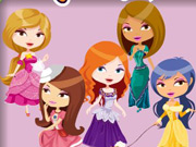 Play Royal Fashion Coloring