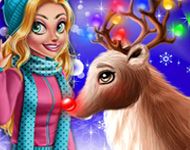 Play Rudolph Christmas Makeover
