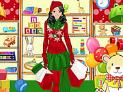 Play Shopping For Santa Claus Dress Up