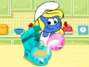 Play Smurfette Raspberry Cookie Bars
