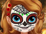 Play Sofia Halloween Face Art