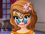 Play Sofia The First Face Tattoo