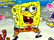 Play SpongeBob Anchovy Assault