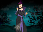 Play Spooky Halloween Witch Dress Up