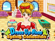 Play Spring Dressup Shop