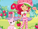 Play Strawberry's Cat Caring
