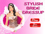 Play Stylish Bride Dressup