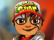 Play Subway Surfer Face Tattoo