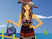Play Summer Fashion On The Beach Dress Up