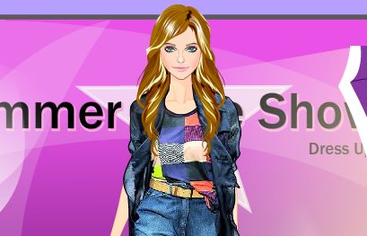 Play Summer Fashion Show Dress Up
