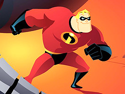Play The incredibles save the day
