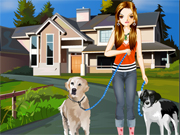 Play The Pretty Dog Walker
