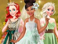 Play Tiana's Spring Green Wedding
