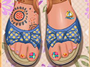 Play Toe Nail Design