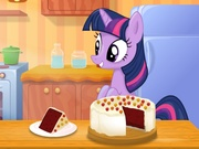 Play Twilight Sparkle Red Velvet Cake