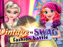Play Vintage vs Swag fashion battle