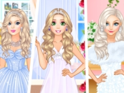 Play Wedding Style Cinderella Vs Rapunzel Vs Elsa