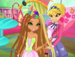 Play Winx Club Hair Salon